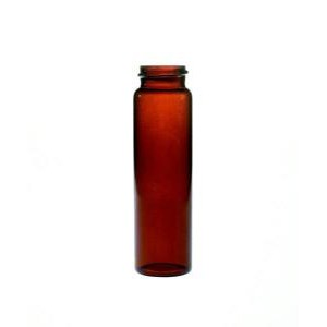 KIMBLE® Amber Glass Screw Thread Vials without Closures