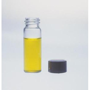 KIMBLE® Glass Dram Vials with Rubber Lined Closures, Unattached