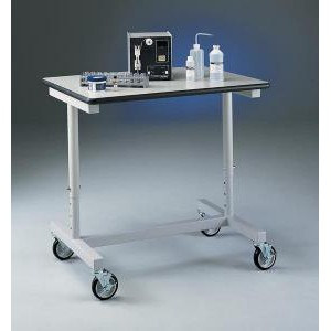 Variable Height Mobile Laboratory Bench