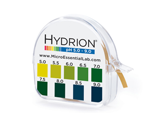 Hydrion pH Test Papers, Short Range. Micro Essential Laboratory