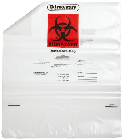 Biohazard Bags with Warning Label